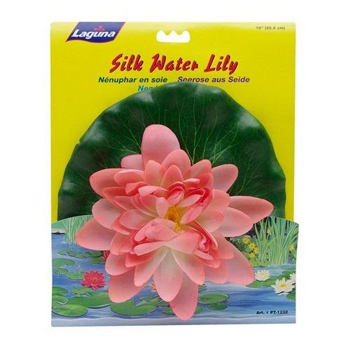 Растение пластиковое Hagen Лилия розовая плавающая
