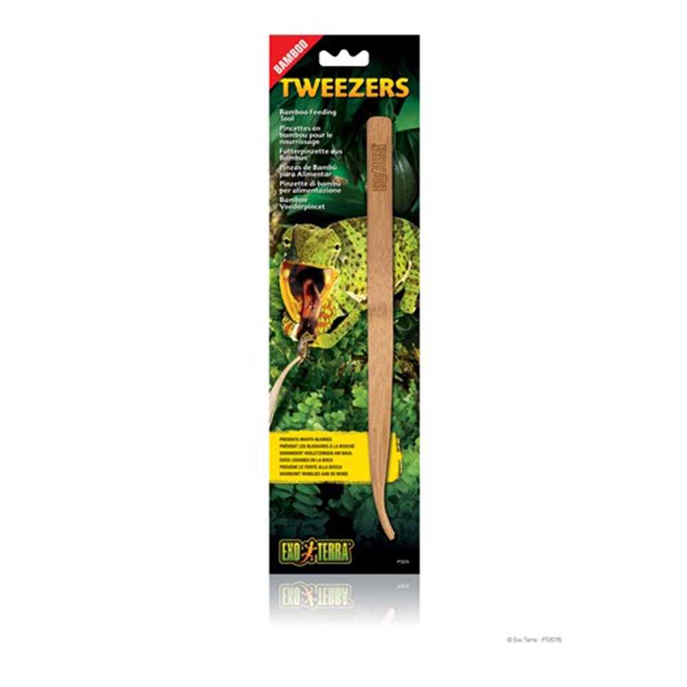 Пинцет EXO TERRA бамбуковый для кормления рептилий