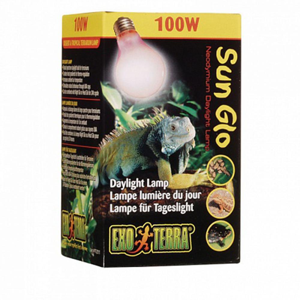 Лампа Hagen EXO TERRA Sun Glo 100Вт неодимиевая рассеянный свет R58