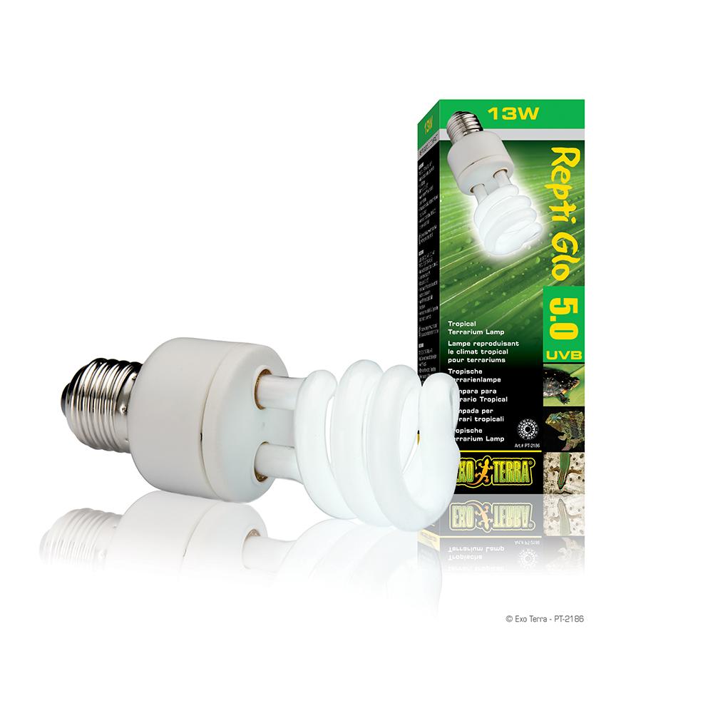 Лампа Hagen EXO TERRA REPTILE UVB 100 Compact 13Вт