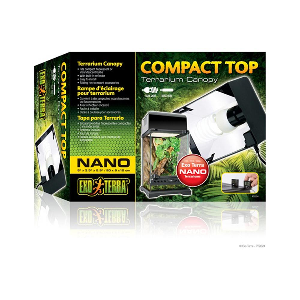 Светильник для террариума HAGEN Compact Top Nano