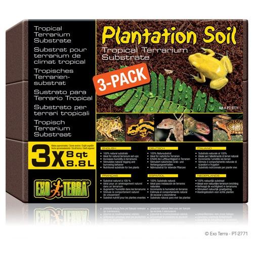 Кокосовая стружка 8,8 л. EXO TERRA Plantation Soil