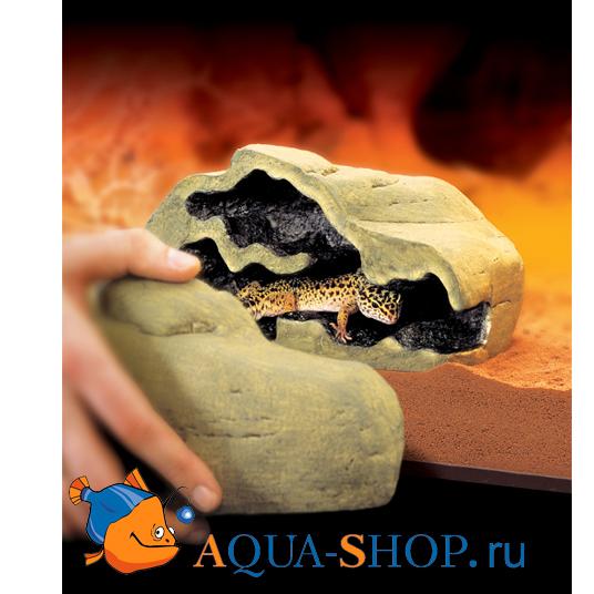 Укрытие-нора разъемное для рептилий Hagen EXO TERRA Reptile Den малое