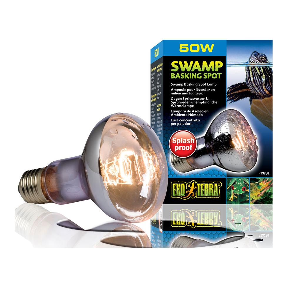 Лампа Hagen Swamp Glo 50 Вт для болотных и водяных черепах