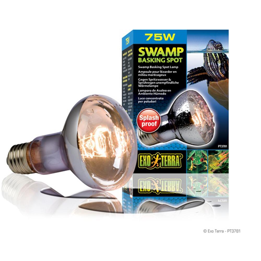 Лампа Hagen Swamp Glo 75 Вт для болотных и водяных черепах
