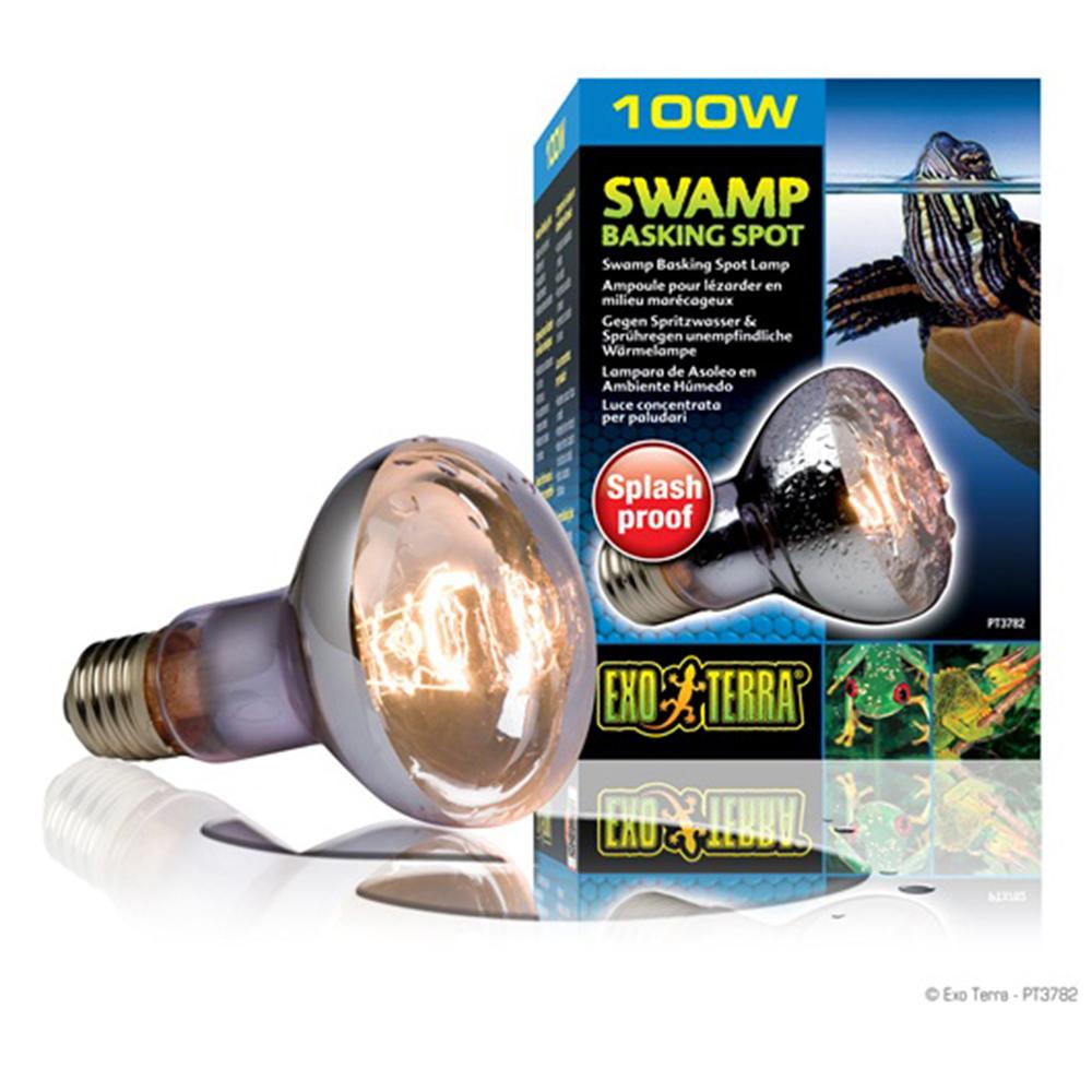 Лампа Hagen Swamp Glo 100 Вт для болотных и водяных черепах