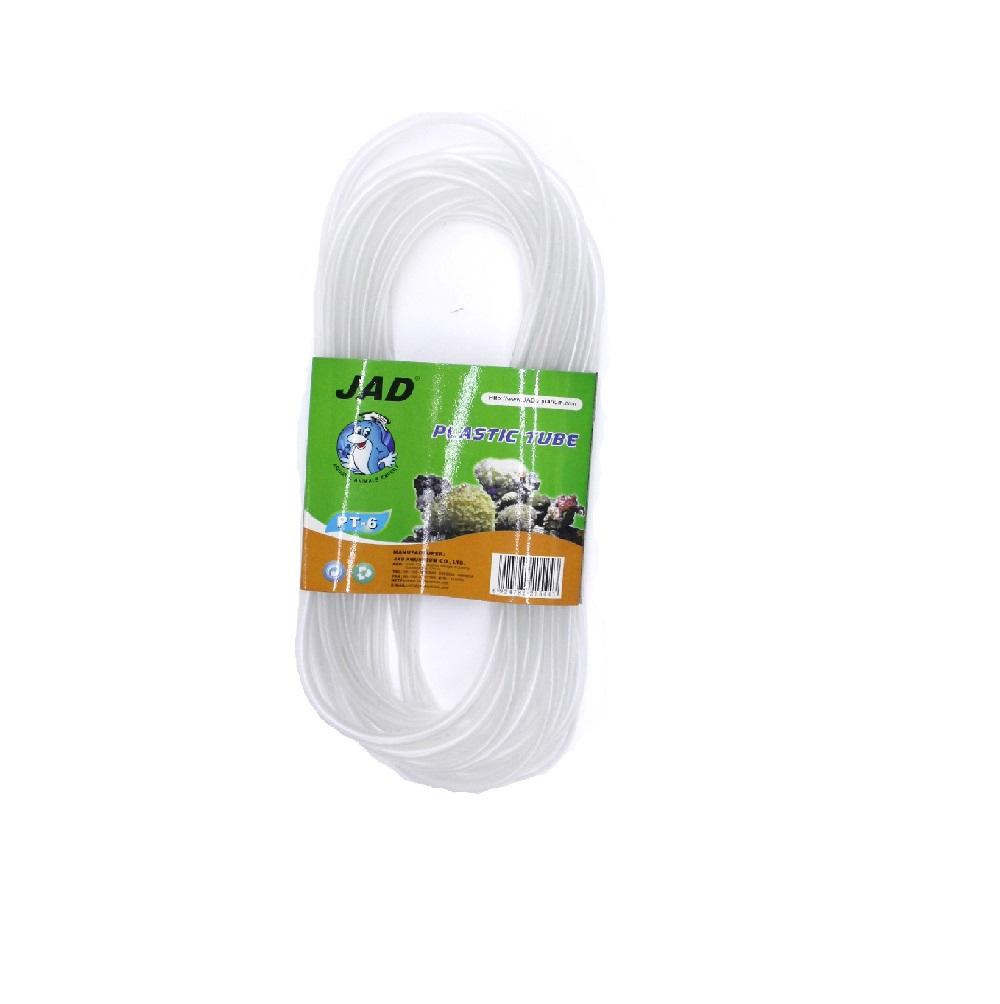 Шланг для воздуха BOJU силиконовый 4/6мм (прозрачный) 6м