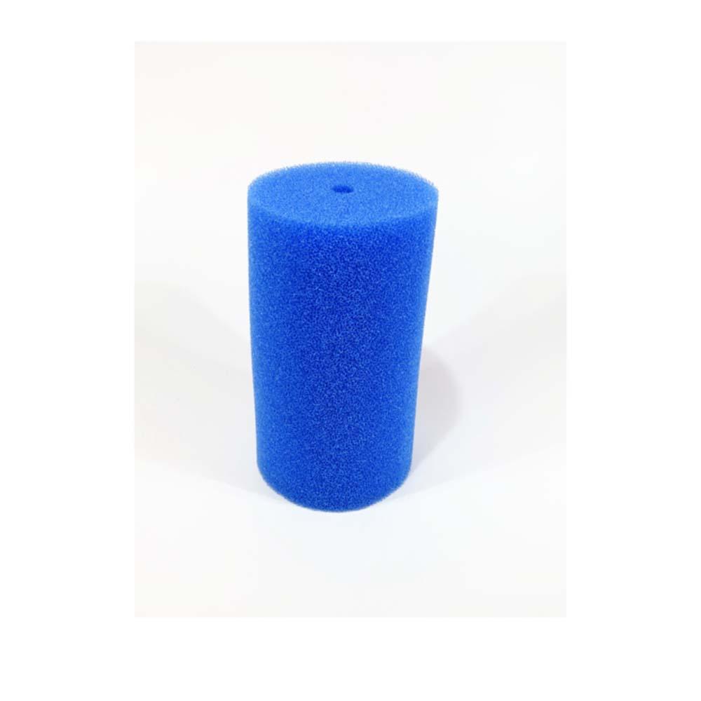 Губка ROOF FOAM фильтрующая пенополиуритановая 150х80Dмм PPI 30 синяя