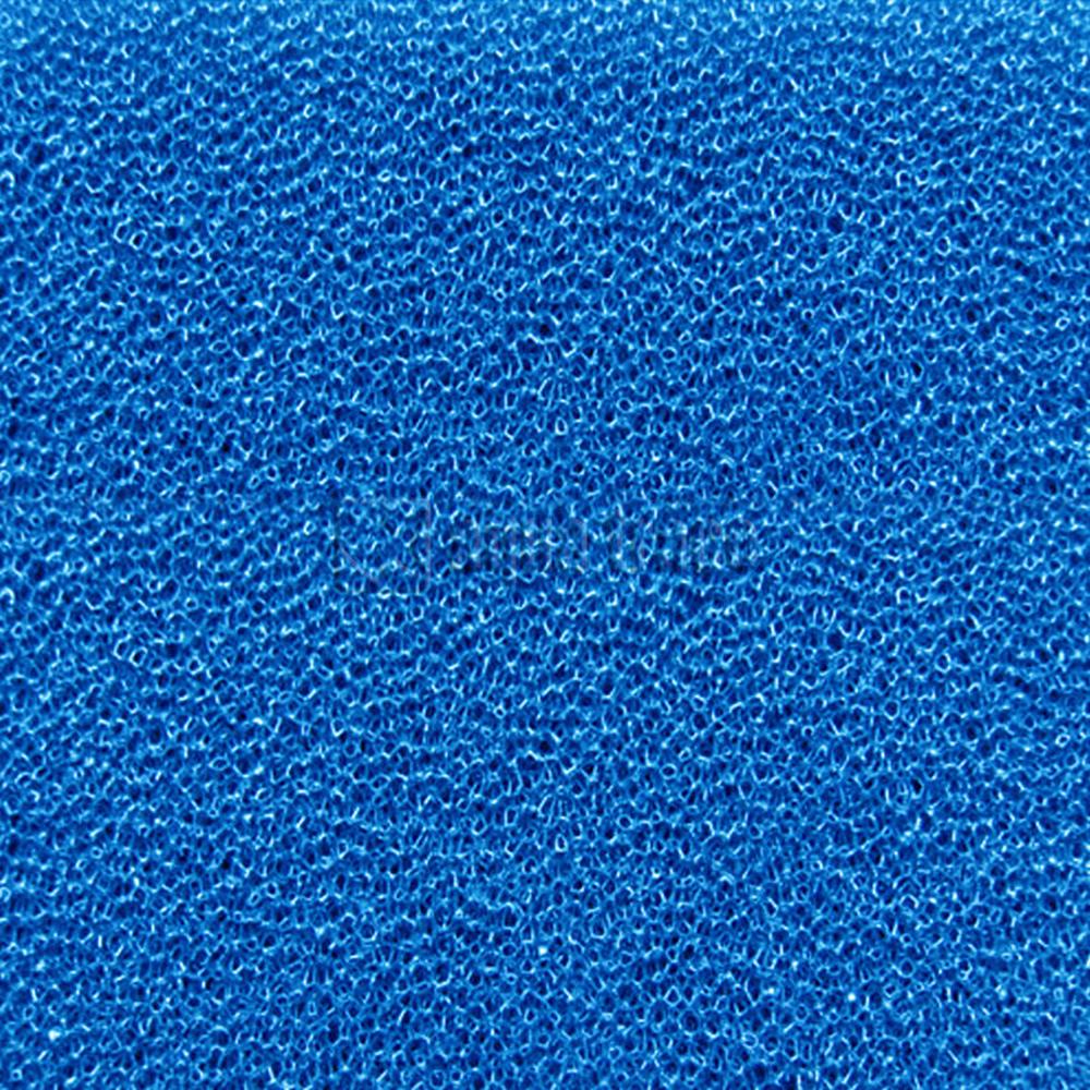 Губка ROOF FOAM фильтрующая пенополиуретановая 50*500*500мм PPI 20 синяя