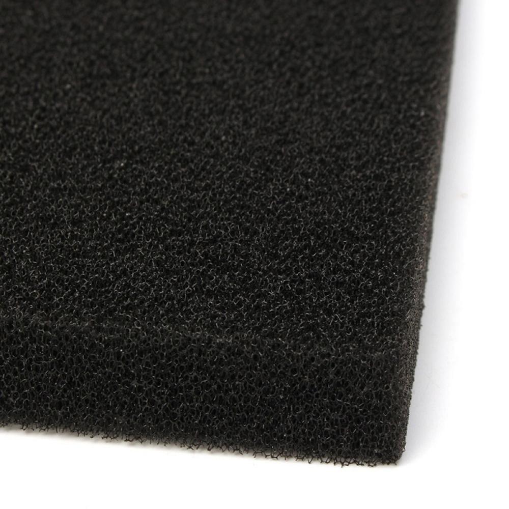 Губка ROOF FOAM фильтрующая пенополиуретановая 50*500*500мм PPI 30 черная