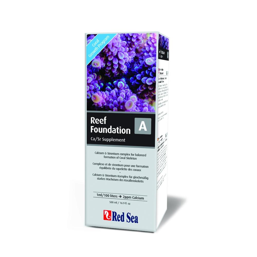 "Добавка Red Sea для роста кораллов ""Reef Foundation A"" (Ca/Sr) 500 мл"