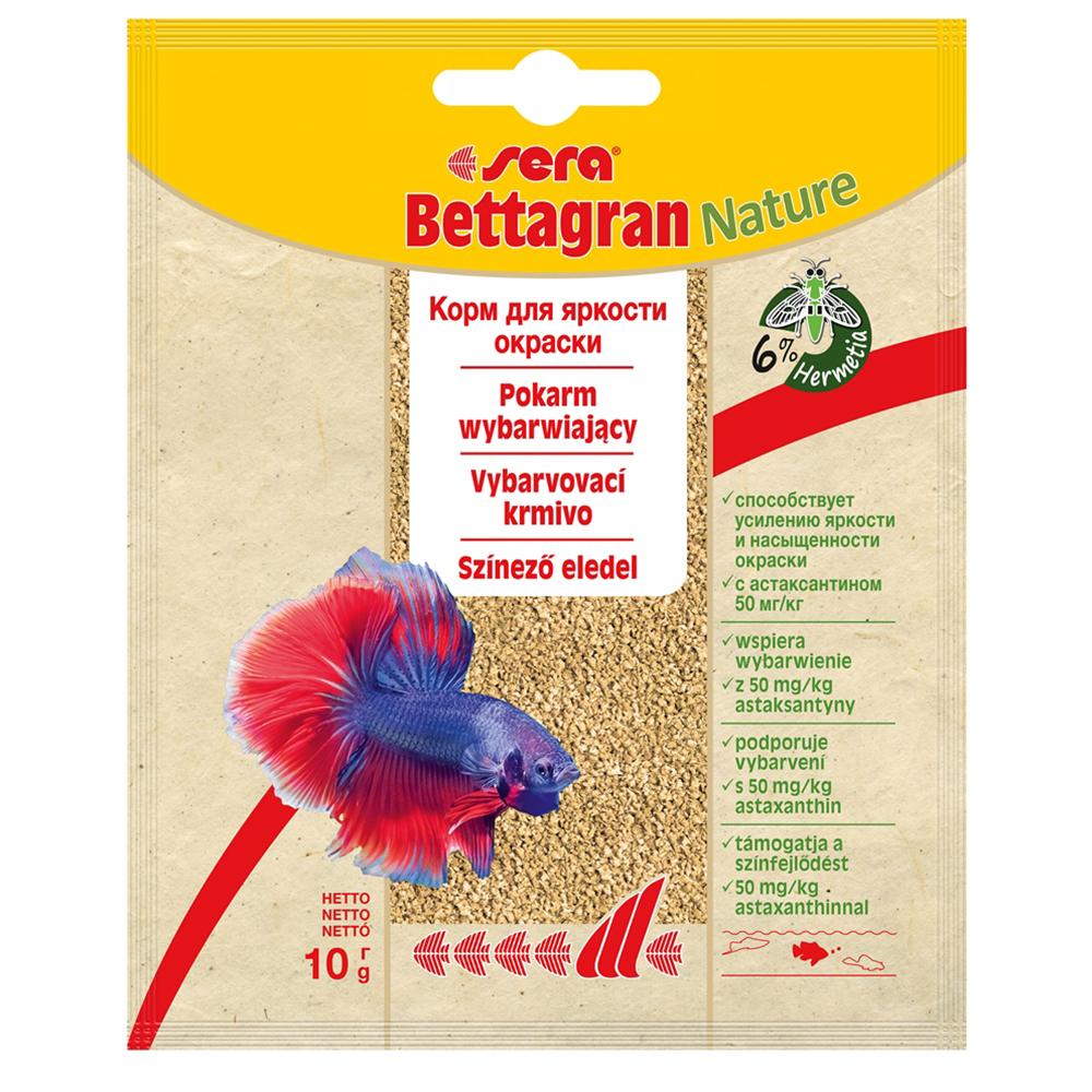 Корм Sera для рыб Bettagran 10 г (пакетик)