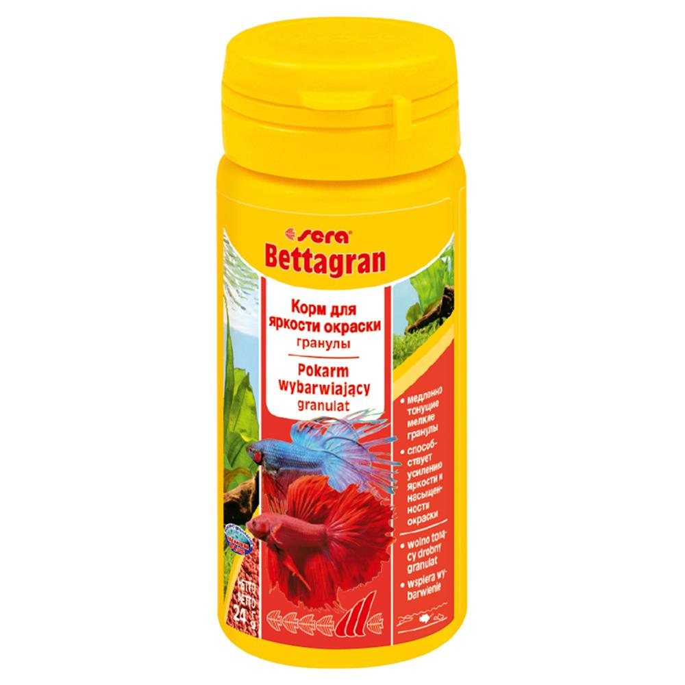 Корм Sera для рыб Bettagran 50 мл