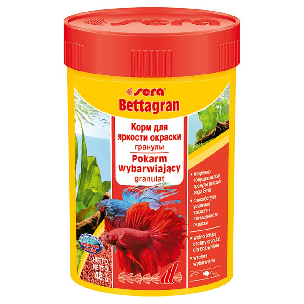 Корм Sera для рыб Bettagran 100 мл