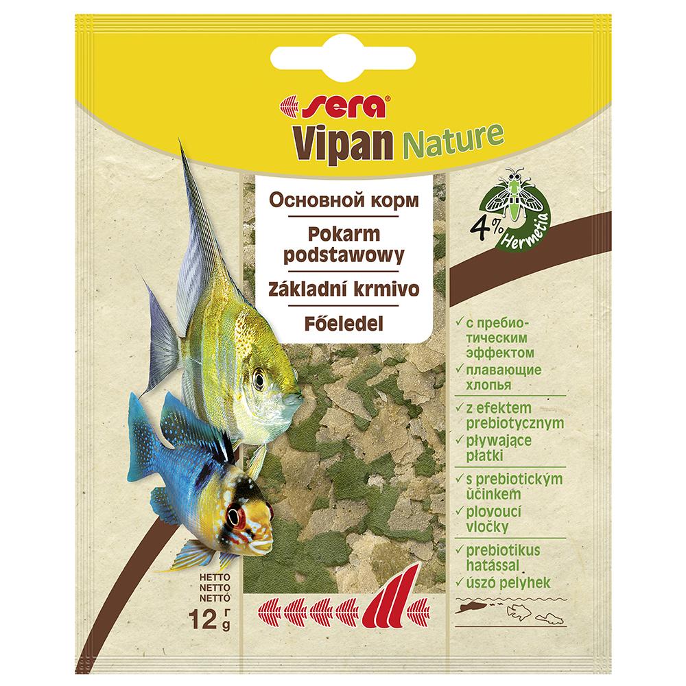 Корм Sera для рыб VIPAN хлопья 12г (пакетик)