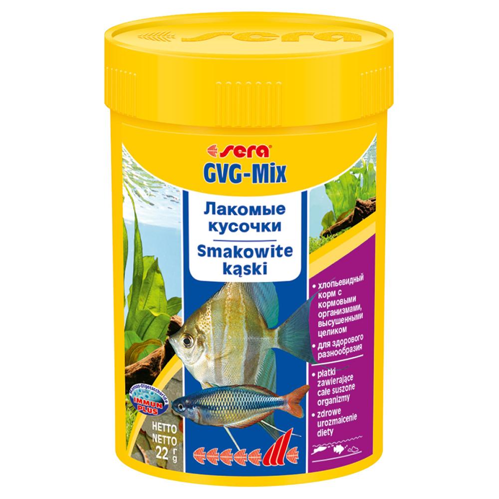 Корм Sera для рыб GVG MIX с иодом 100мл