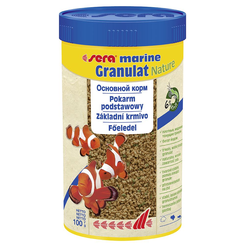 Корм для морских рыб Sera MARIN GRANULAT, гранулы 250мл