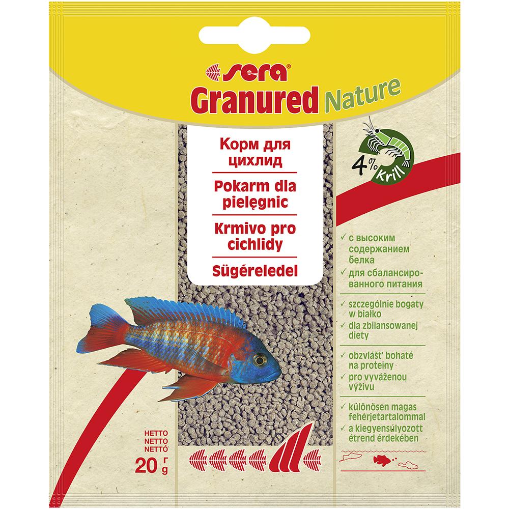 Корм Sera для рыб GRANURED 20 г