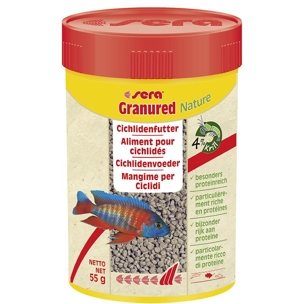 Корм Sera для рыб Granured 100мл