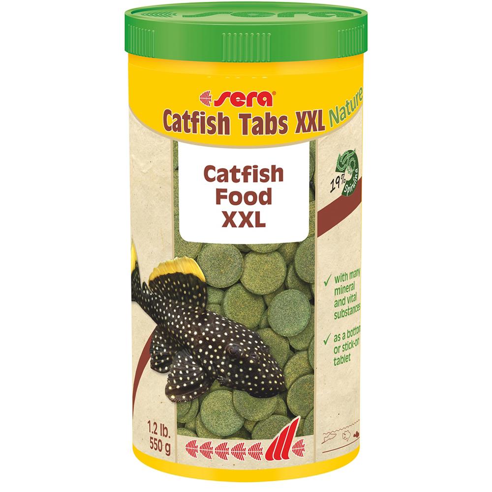 Корм SERA для рыб Catfish Tabs XXL таблетки для больших сомов 1000мл/420г