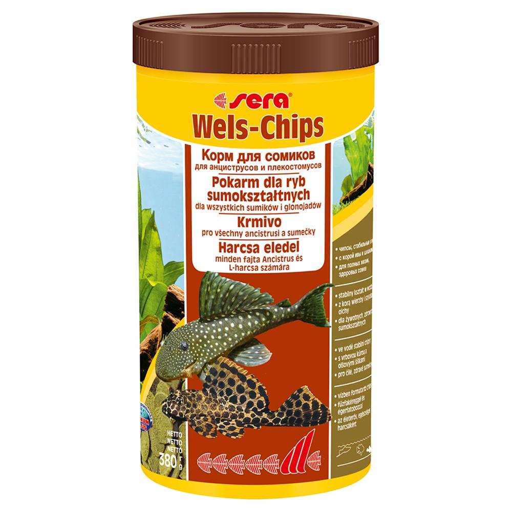 Корм Sera для сомов Wels-Chips 1000мл