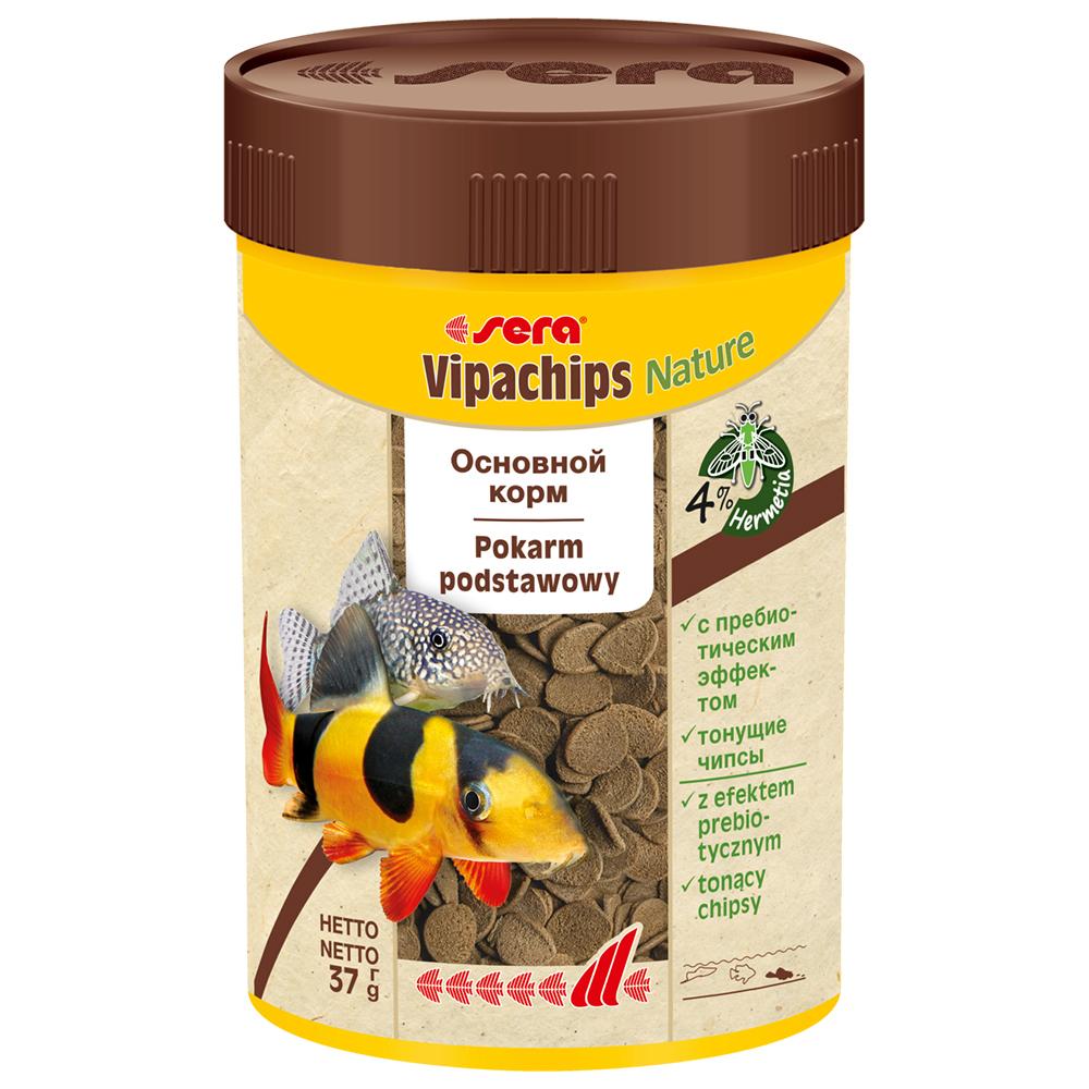 Корм Sera для сомов Vipachips 100 мл