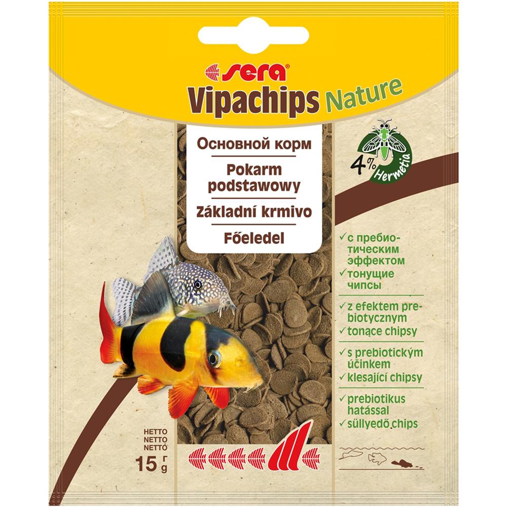 Корм Sera для сомов Vipachips 15 г (пакет)