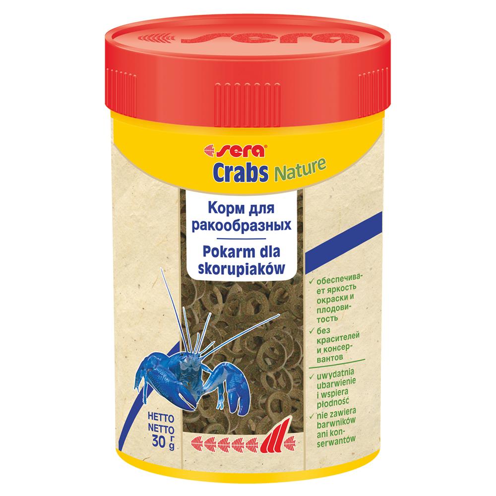 Корм Sera для раков Crabs Natural 100 мл