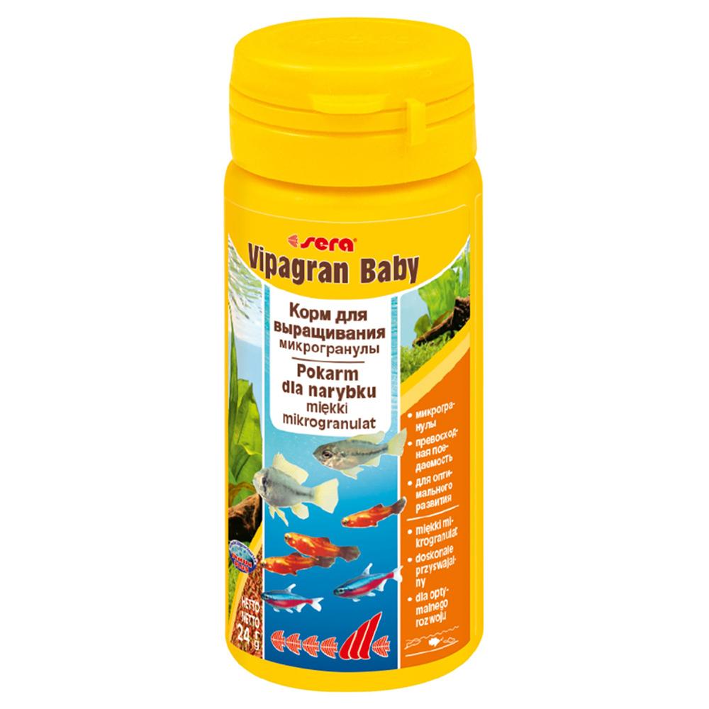 Корм Sera для рыб Vipagran baby 50 мл