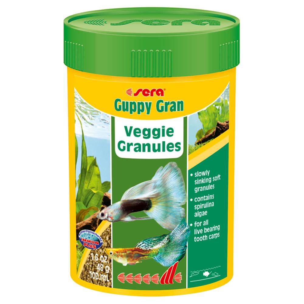 Корм SERA для рыб Guppy Gran 100мл/48г