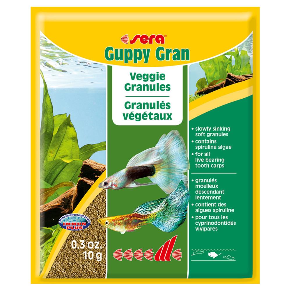 Корм SERA для рыб Guppy Gran 10г (пакетик)