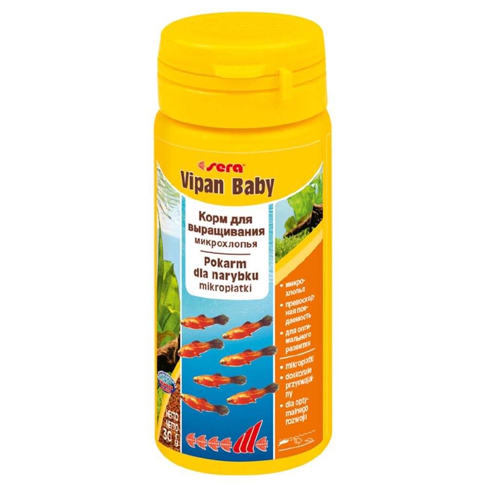 Корм Sera для мальков VIPAN BABY  50мл