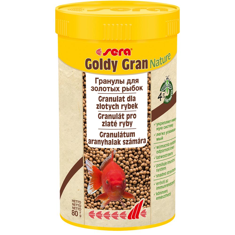 Корм Sera для рыб GOLDY GRAN 250мл
