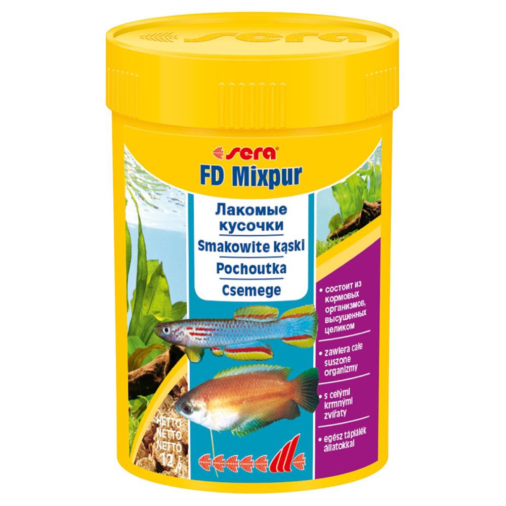Корм Sera для рыб FD MIXPUR 100мл