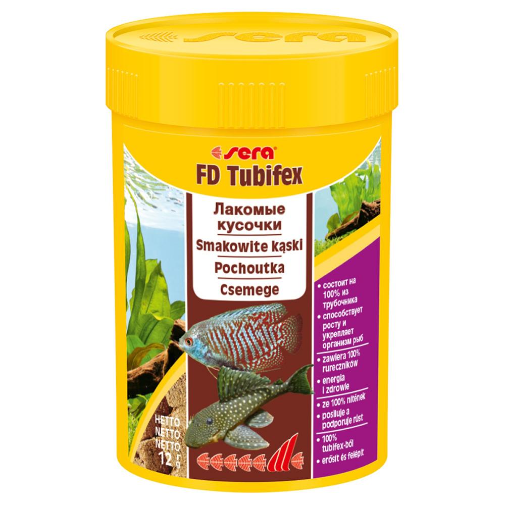 Корм для рыб Sera FD TUBIFEX (трубочник) 100мл