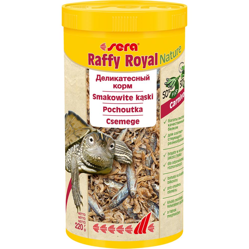 Корм Sera для рептилий RAFFY Royal 1000мл