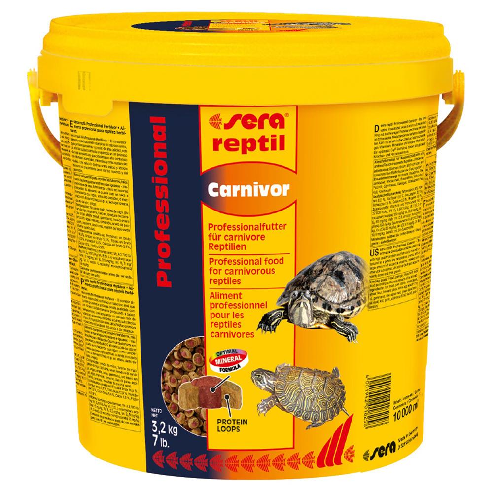 Корм для рептилий Sera Reptil Professional Carnivor 10000мл