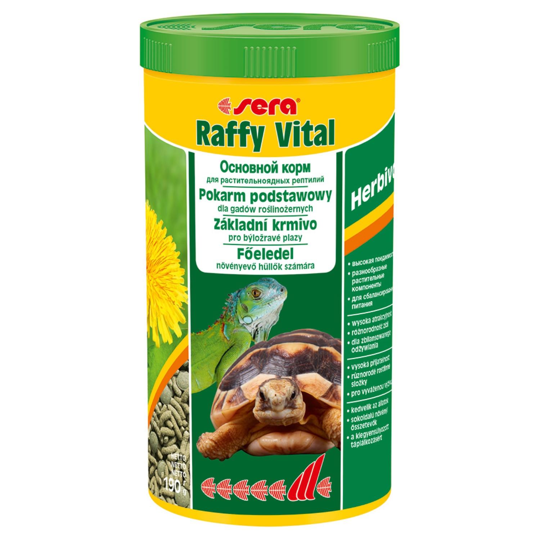 Корм для рептилий Sera RAFFY VITAL  1000мл