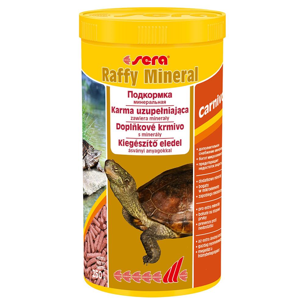 Корм Sera для рептилий RAFFY Mineral 1000мл