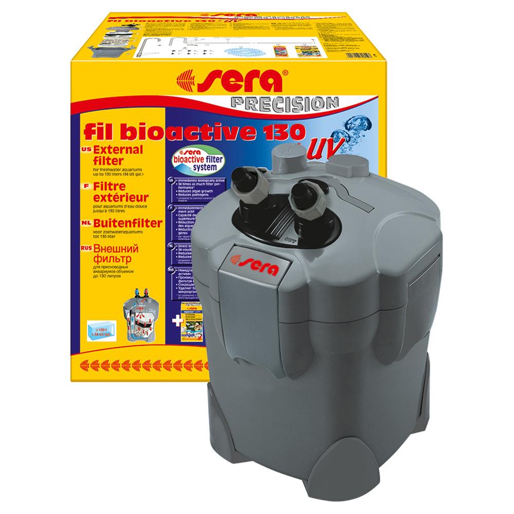 Фильтр внешний SERA Fil Bioactive 130+УФ 300л/ч до 130л