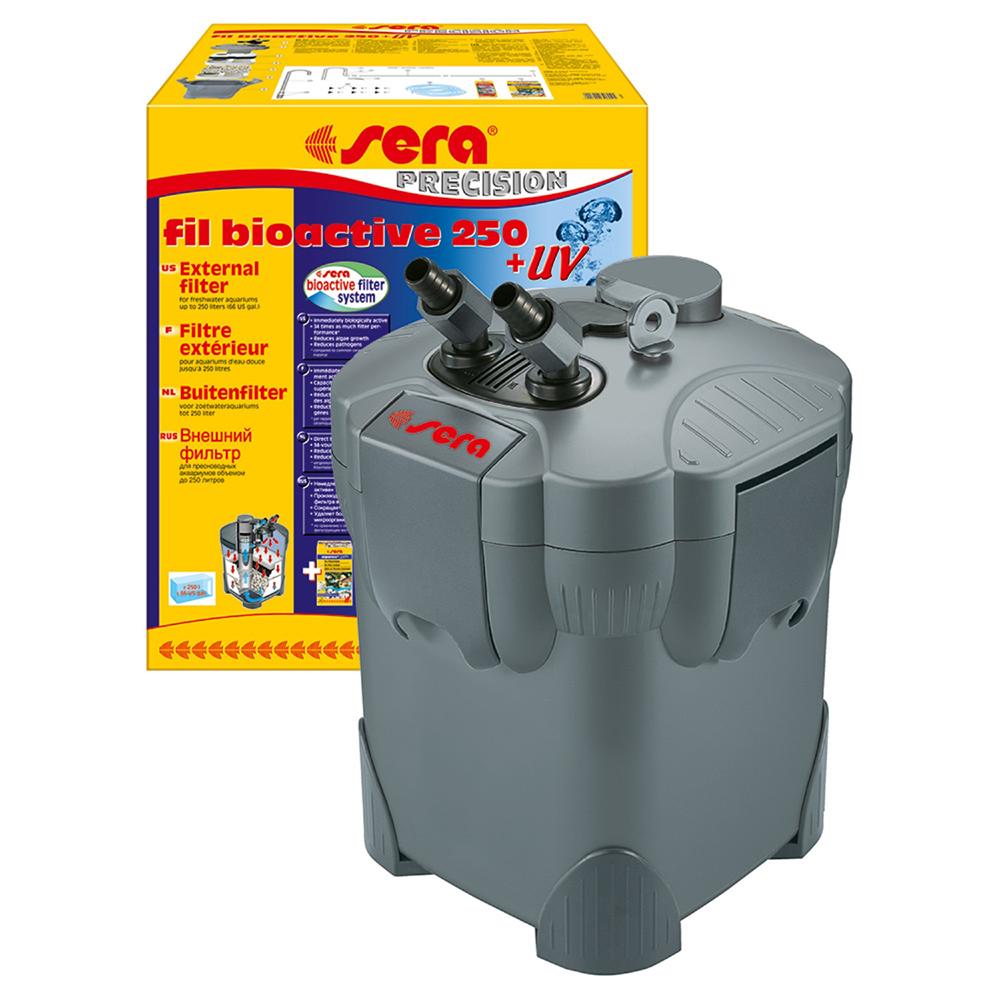 Фильтр внешний SERA Fil Bioactive 250+УФ 750л/ч до 250л
