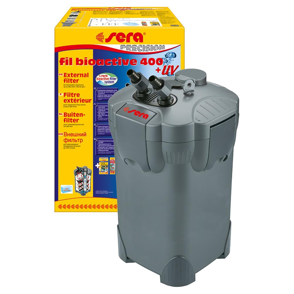 Фильтр внешний SERA Fil Bioactive 400+УФ 1100л/ч до 400л