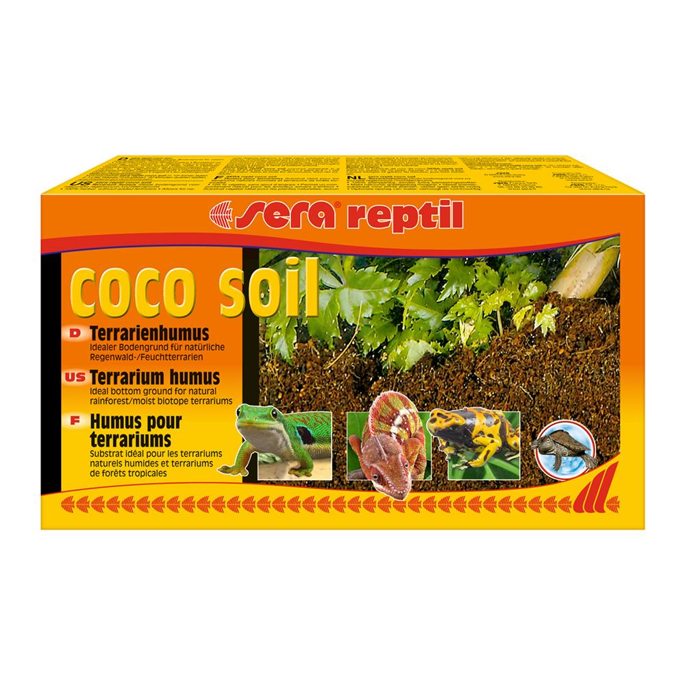 Субстрат для террариумов Sera Reptil coco soil