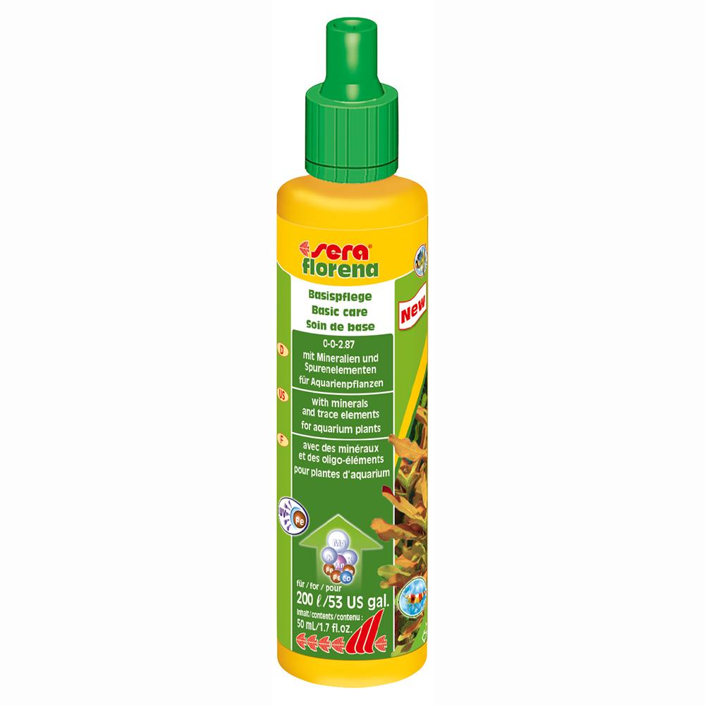 Удобрение для растений Sera FLORENA для водных растений 50мл