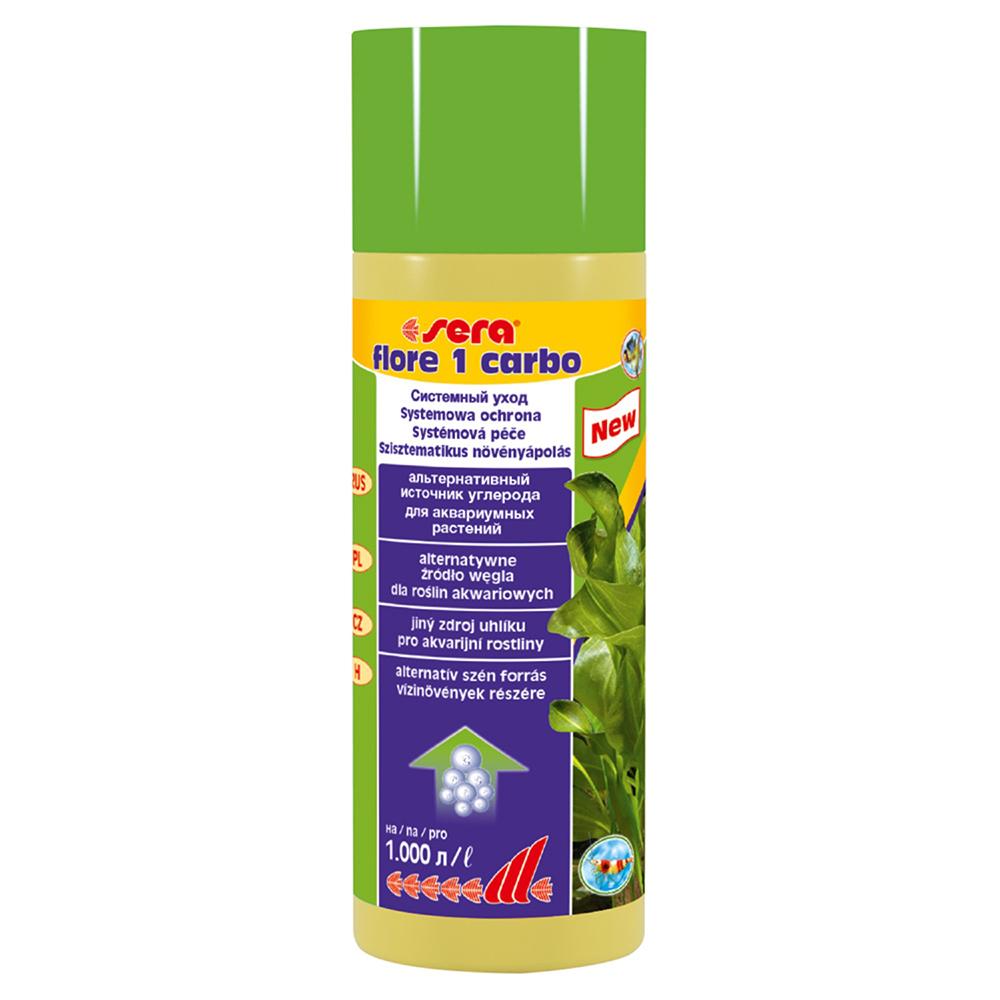 Удобрение для растений Sera FLORE 1 CARBO 250 мл