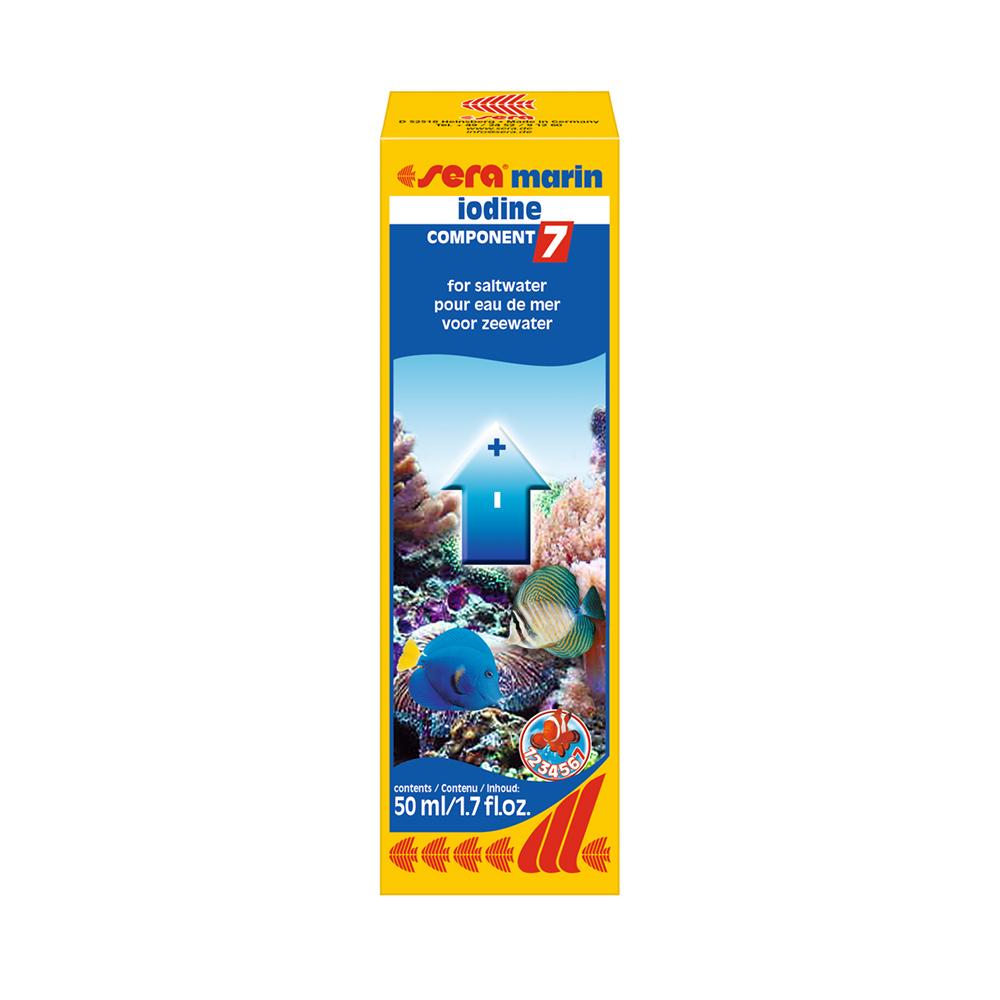 Средство для морской воды Sera Marin COMPONENT 7 iodine 50 мл