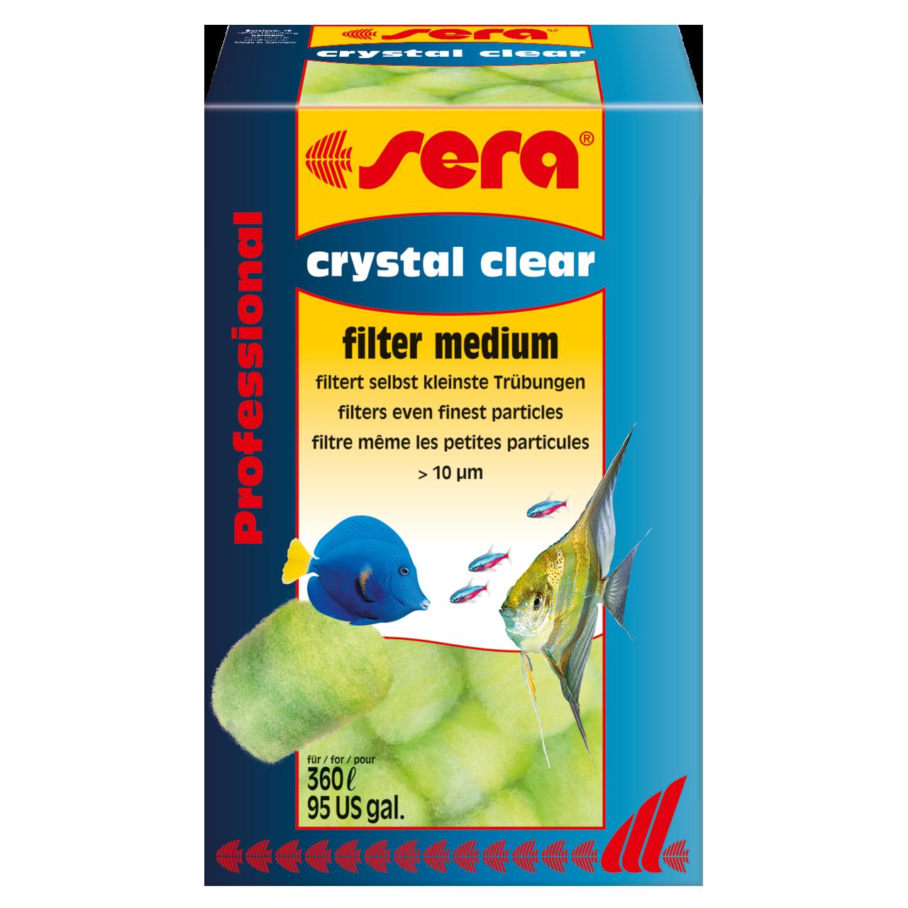 Наполнитель для фильтра Sera Crystal Clear