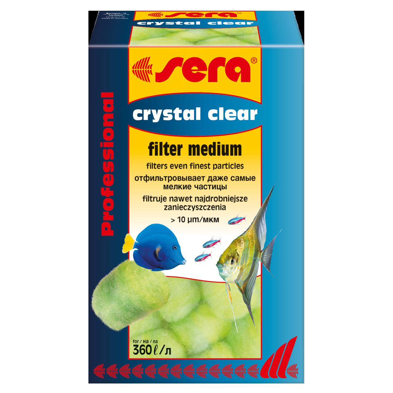 Наполнитель для фильтра Sera Crystal Clear Professional 12 шт