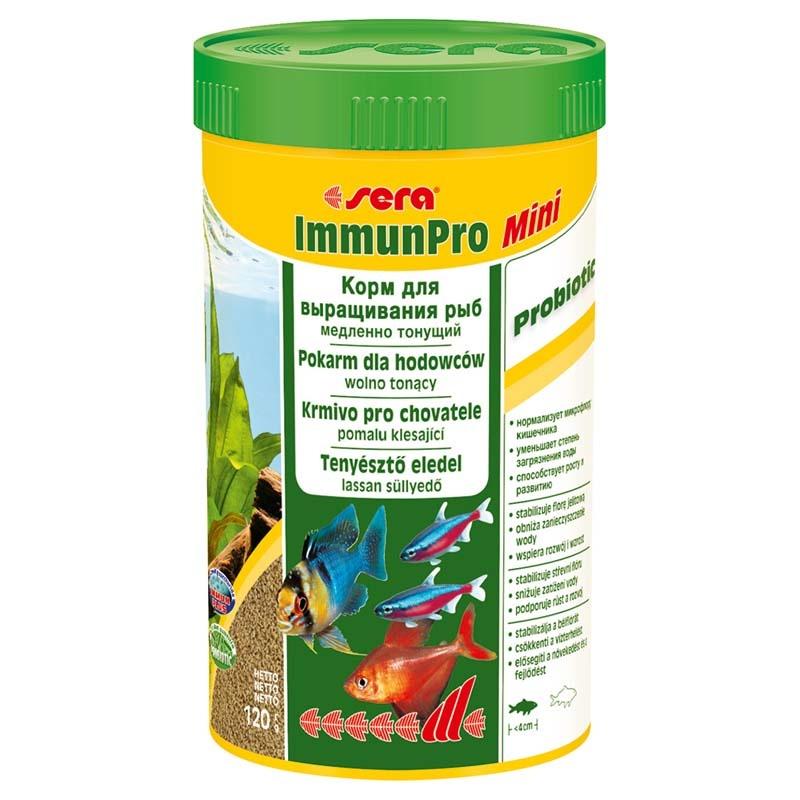 Корм SERA для рыб Immun Pro Mini 250мл/120 г