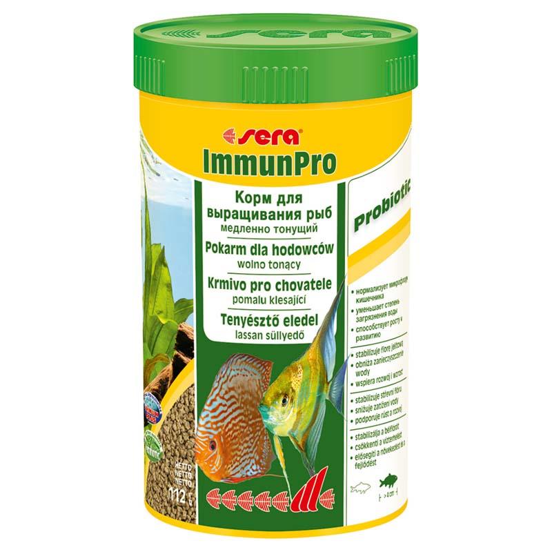 Корм SERA для рыб Immun Pro 250мл/112г